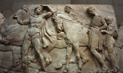 A frieze from the Elgin Marbles
