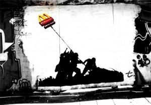 Banksy McDonalds